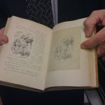 Alice in Wonderland...Lewis Carroll's personal copy...with the original pencil sketches of each illustration facing the printed one.