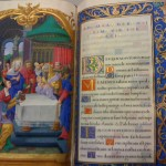 15th century Book Of Hours. Stunning. I can not imagine having a hand this steady.