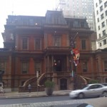 Union League of Philly facing the Broad St.