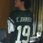 Cyn in her Kevin Johnson Rocks jersey.