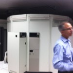 A robotically controlled tape silo...SIX PETABYTES of storage.