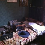 One of the many displays of Victoriana at the Holmes museum...