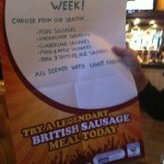 Sausage Week. Who knew?