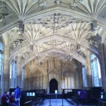 Divinity School at Oxford. Uhm. Wow.