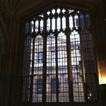 Window in the Divinity School