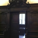 "Door to the discipline room-had to see, but there is a wonderful ""bar"" locking the left sections)"