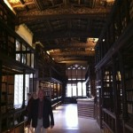 "Duke Humfrey's Library. Taken moments before I noticed the ""strictly no photography"" signs..."