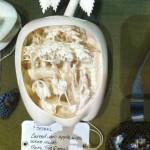 Carved ivory.