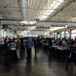 180 booths in one great huge (over sunny) room. Wow. Just...seriously...wow.
